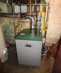 Plumbing services for gas or oil hot water tank installation and repair service for tank-less hot water on demand.