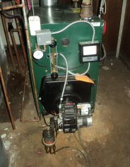 Old or new oil boilers require periodic maintenance to keep it running efficiently. We tune-up steam and oil hot water boilers.